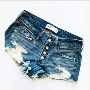 Abercrombie and Fitch low rise denim 2